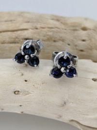 Sapphire Earrings, Studs
