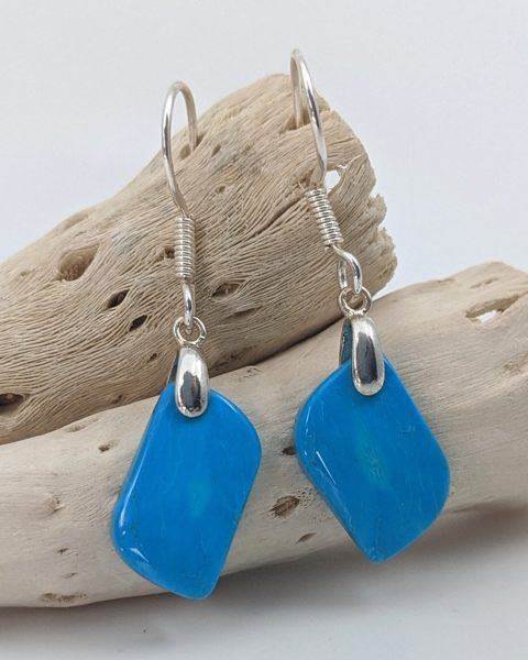 Turquoise, Sleeping Beauty Earrings