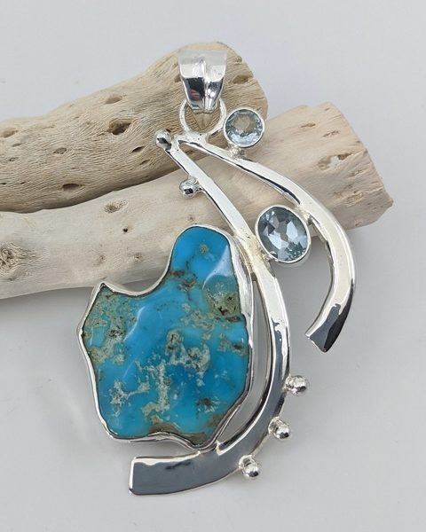 Turquoise, Sleeping Beauty, Arizona Pendant