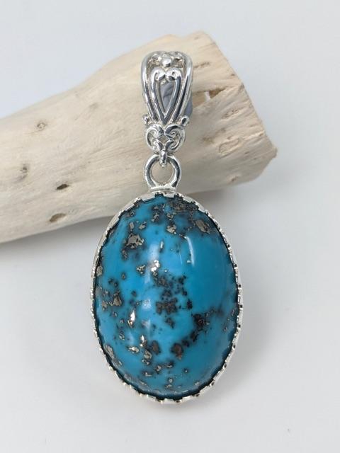 Turquoise, Arizona Pendant