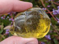 Andara, Yellow, Monatomic, Mt Shasta, USA 59.50g