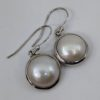 Mother of Pearl Earrings, Drops