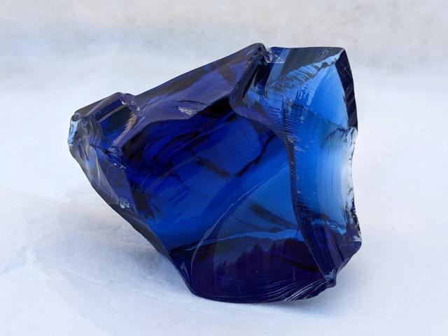 Andara, Large, Elestial Sapphire, Heart, Monatomic, Mt Shasta, USA, 229g