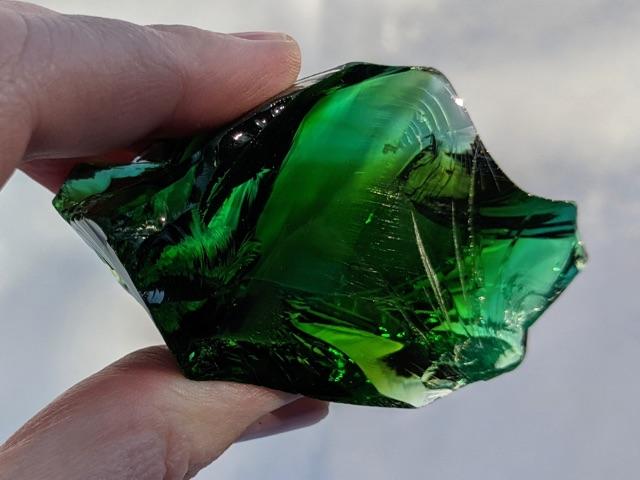 Andara, Emerald Shift / Earth Shaman, Gem Quality, Monatomic, Mt Shasta, USA, 101g