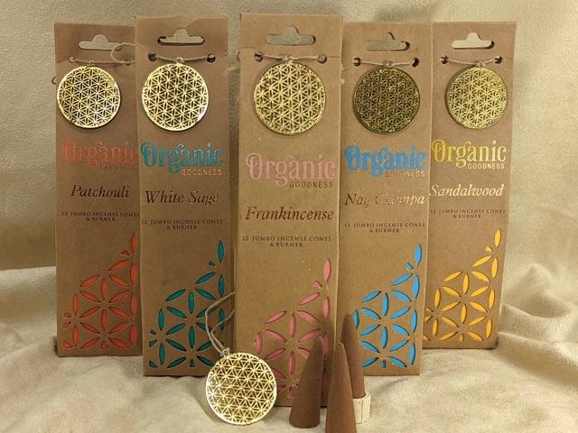Incense Cones Jumbo, Organic Goodness