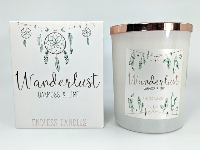 Wanderlust Scented Candles