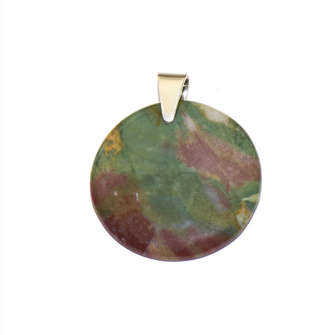 Crystal ocean bloodstone pendant bloodstone crystal pendant mozeypictures Images