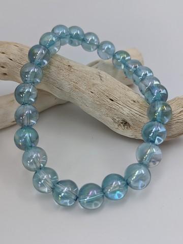 Aqua Aura Stretch Bracelet