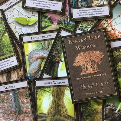 Banyan Tree Wisdom Guidance Cards
