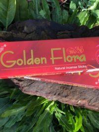Golden Flora Natural Incense Sticks