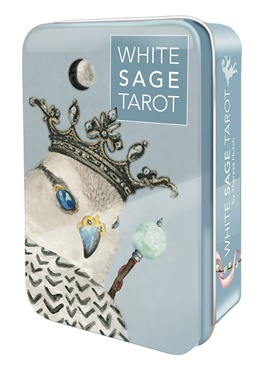 Mini White Sage Tarot Tin