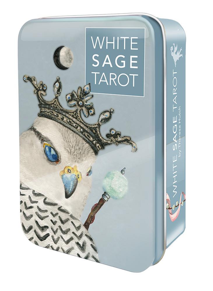WHITE SAGE TAROT TIN